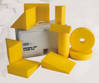 Dr.Goos, Lagerungs-Set, 10tlg. PUR-K-beschichtet