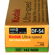 KODAK,Dental Rö.Einzelfilm,DF54, 2,2x3,5cm,100Stck.,Speed D