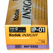 KODAK,Dental Rö.Einzelfilm,IP01, 2,2x3,5cm,100Stck.,Speed E/F