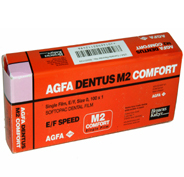 AGFA, Dentus M2, Einzelfilm, 3x4cm, 150Stck., Speed E